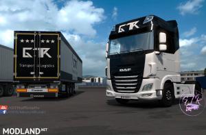 Skin Pack Transport & Logistics for DAF XF Euro 6, 1 photo