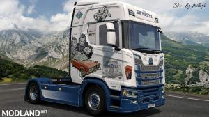 The Sweeney NG Scania Skin 1