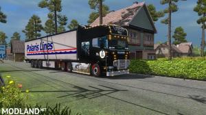 Scania R & streamline longline Skins Last Of Us, 1 photo