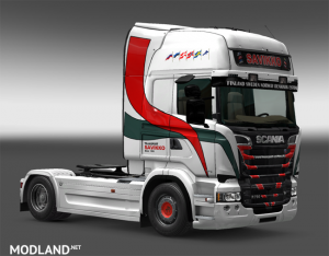 Scania RJL Transport Savikko Skin, 3 photo