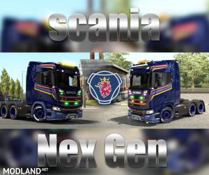 Scania S_R Nex Gen Super Skin, 1 photo