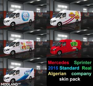 Mercedes Sprinter 2015 Standard  Real Algerian company skin pack, 1 photo