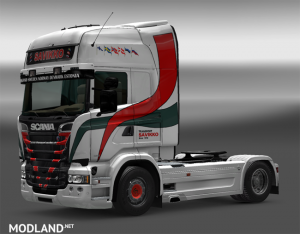 Scania RJL Transport Savikko Skin, 1 photo