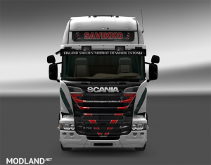 Scania RJL Transport Savikko Skin, 2 photo