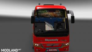 Volvo B12bTX Bus+ Passenger BD Skin Shyamoly Poribahan BD Mods, 2 photo