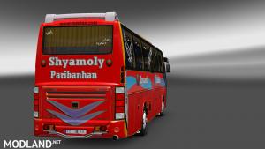 Volvo B12bTX Bus+ Passenger BD Skin Shyamoly Poribahan BD Mods, 3 photo
