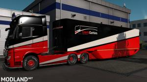 CRTZ Carriers MB Aero Dynamic Trailer Paint Skin, 3 photo