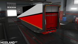 CRTZ Carriers MB Aero Dynamic Trailer Paint Skin, 2 photo