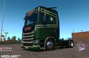 Skin Algeria for Scania S Next Gen, 1 photo
