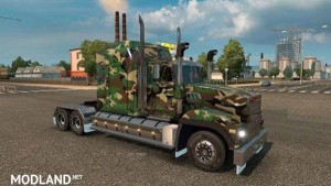 Army Camo skin for Mack Titan - Direct Download image