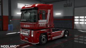 Renault Magnum ASN Logistics skin