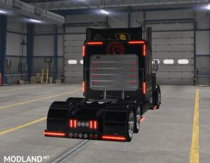 ETS2 - Knight Rider skin for Vipers Peterbilt 389 v2, 3 photo