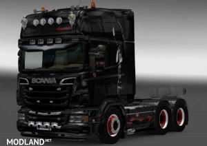 Batman Skin Scania, 1 photo