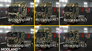 Combo Skin Military for all Truck and (Krone & Standard Trailers), 4 photo