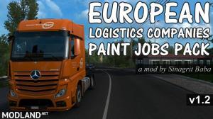 European Logistics Companies Paint Jobs Pack v 1.2, 1 photo