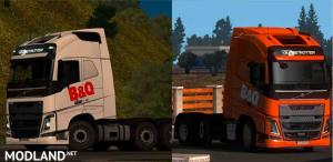 Skin B&Q For ETS2 1.32, 1 photo
