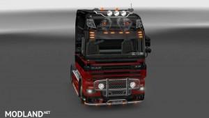 Daf CF Black Red v1.0, 1 photo