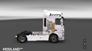 DAF Euro 6 Skin Tom and Jerry