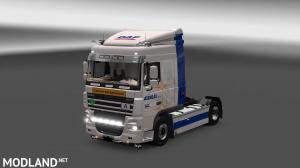 DAF XF 105 Agenau Group Skin