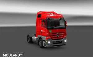 Edy Spedition Skin for Actros MP3, 1 photo