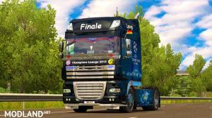 Skin Champions League 2013 finale for DAF XF 105, 1 photo
