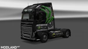 Nvidia Skin for Volvo FH 2012, 1 photo