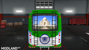 INDIAN SKINS FOR MARUTI BUS IN ETS2, 2 photo