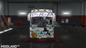 P.R.P SKINS FOR MARUTI BUS IN ETS2, 5 photo