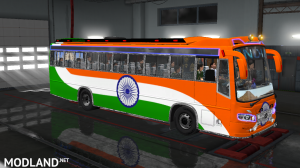 INDIAN SKINS FOR MARUTI BUS IN ETS2, 1 photo