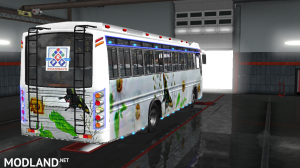 P.R.P SKINS FOR MARUTI BUS IN ETS2, 6 photo