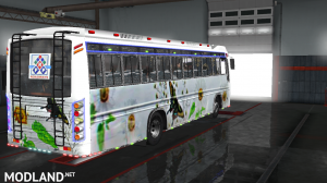 P.R.P SKINS FOR MARUTI BUS IN ETS2, 4 photo