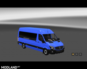 Mercedes Sprinter Long 2014 MiniBus Skin Pack, 1 photo