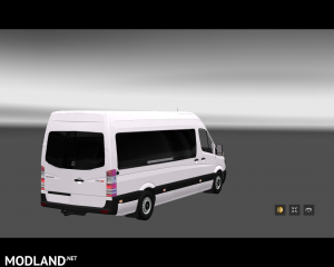 Mercedes Sprinter Long 2014 MiniBus Skin Pack, 2 photo