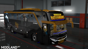 PUBG SKIN FOR INDONESIA JETBUS 3 HDD BUS IN ETS2, 1 photo