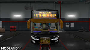 PUBG SKIN FOR INDONESIA JETBUS 3 HDD BUS IN ETS2, 3 photo