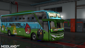 ANGRY BIRDS SKIN FOR INDONESIA JETBUS 3 HDD BUS IN ETS2, 1 photo