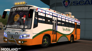 New Friends Indian bus Skin For Maruti Bus, 5 photo