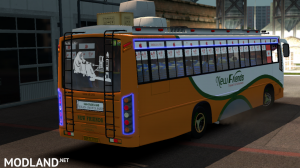 New Friends Indian bus Skin For Maruti Bus, 3 photo