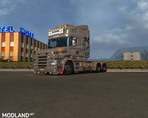 Dirty Diesel skin for Scania T by RJL, 1 photo