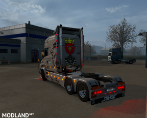 Dirty Diesel skin for Scania T by RJL, 2 photo