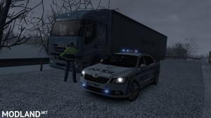 Skoda Superb Policie ČR skin
