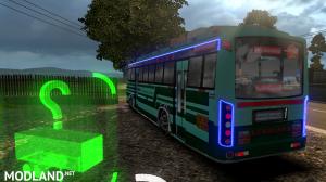 TNSTC Velankanni bus skin mod for maruti v2 bus, 6 photo