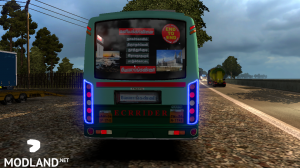 TNSTC Velankanni bus skin mod for maruti v2 bus, 1 photo