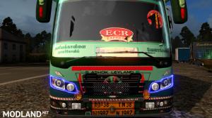 TNSTC Velankanni bus skin mod for maruti v2 bus, 2 photo