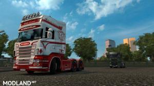Scania RJL White Queen Skin