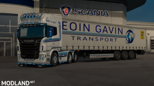 Eoin Gavin Transport (RJL Scania R), 4 photo