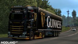 Guinness Scania S&R skin+Trailer Skin, 4 photo