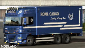 ROML Cargo DAF XF105 BDF and Krone Megaliner, 2 photo