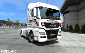 Wolfgang Abicht skin for MAN TGX Euro 6 by SCS