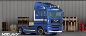 ROML Cargo MAN TGA and Flatbed Trailers Deluxe Edition Skinpack, 1 photo